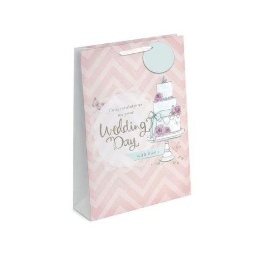 Gift Bag - Wedding Cake - X Large